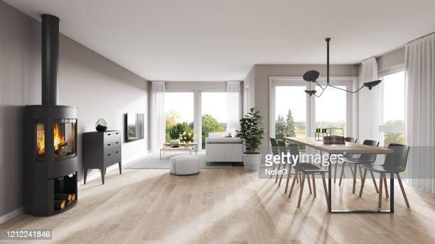modern interior - sliding door stock pictures, royalty-free photos & images