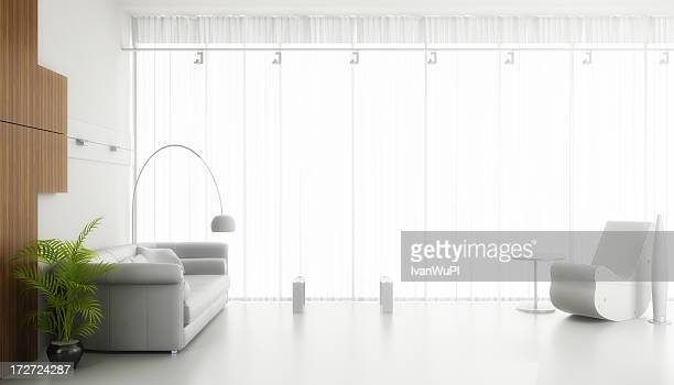 (CGI) render intérieur moderne