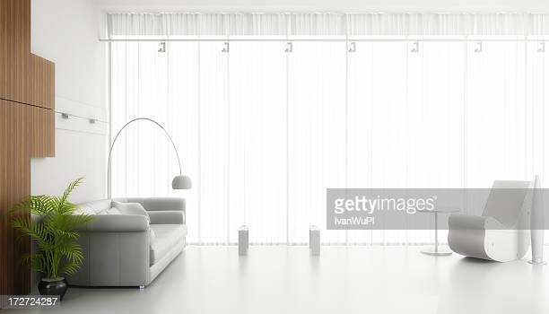 Moderne Interieur render (CGI