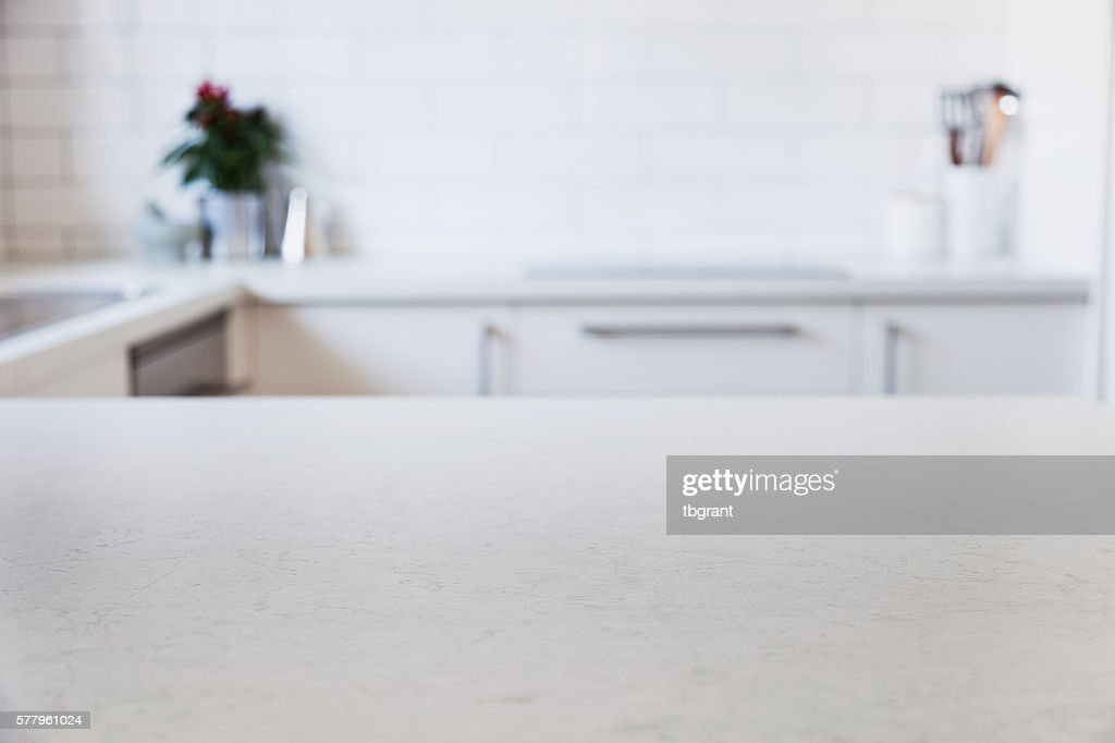 ... Parsley On Countertop · Modern Kitchen Counter