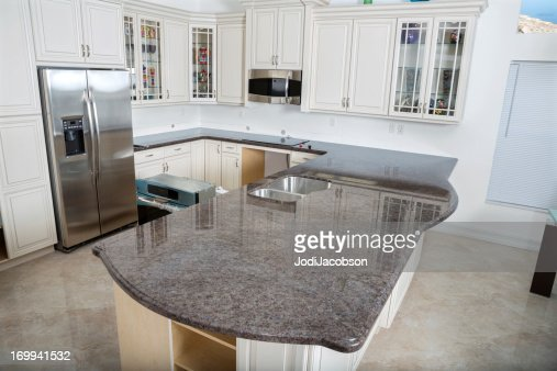 Modern Kitchen House Interior Stock Photo | Getty Images