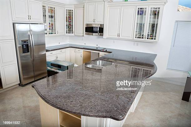Casa moderna interior de cocina