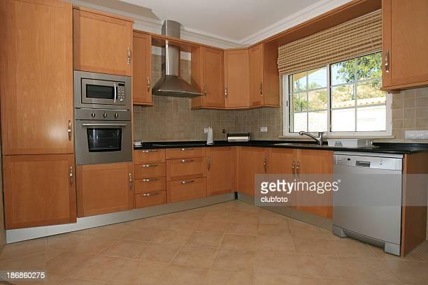 cucina moderna interior - ventola di aspirazione foto e immagini stock