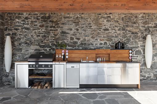 Modern kitchen, outdoor 521310448