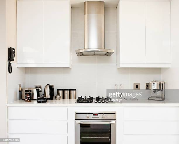 modern kitchen - appliance stock pictures, royalty-free photos & images