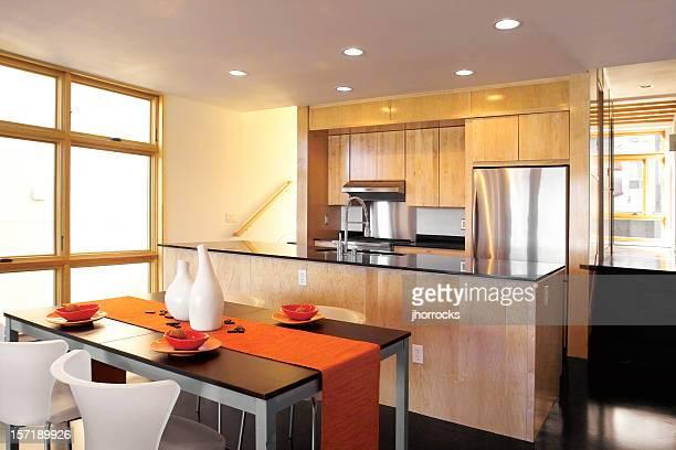cozinha moderna - pequeno - fotografias e filmes do acervo