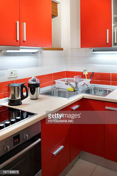 modern kitchen - nook architecture stock pictures, royalty-free photos & images