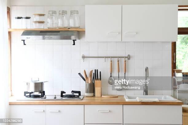 modern kitchen room - キッチン ストックフォトと画像