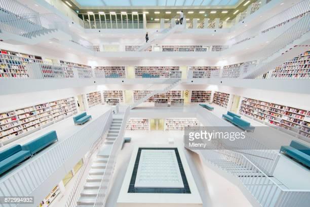 Modern Library Architecture Stadtbibliothek Stuttgart City Library
