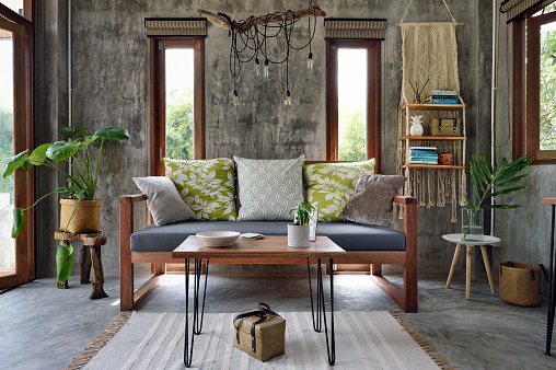 Modern living room - gettyimageskorea