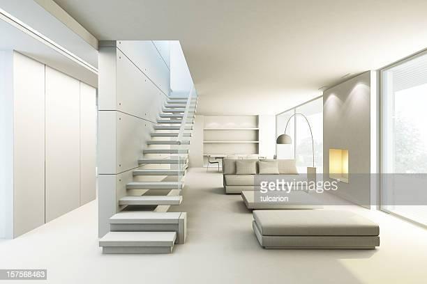 Salle de séjour moderne (pas de textures