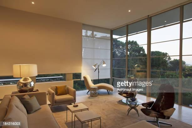 Moderne salle de séjour