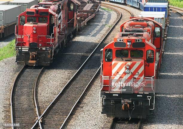 Moderne Lokomotiven