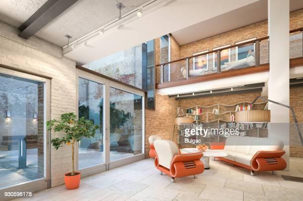 Moderno Loft Apartamento Interior