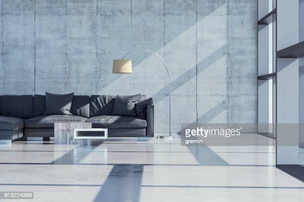 moderne luxuriöse stadtvilla - villa stock-fotos und bilder