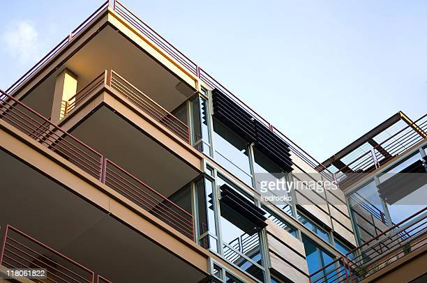 Modern luxury apartments and condominiums
