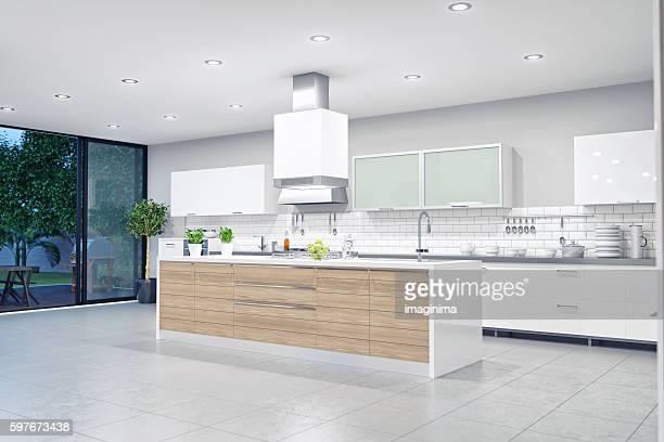 Moderne Luxus Küche Interieur