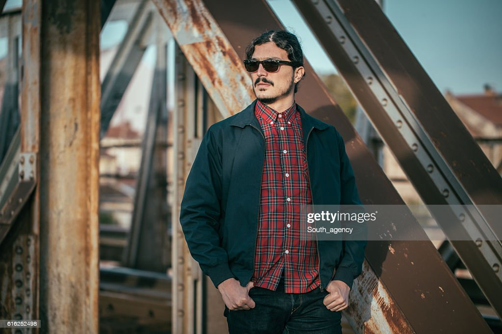 Hombre moderno : Foto de stock