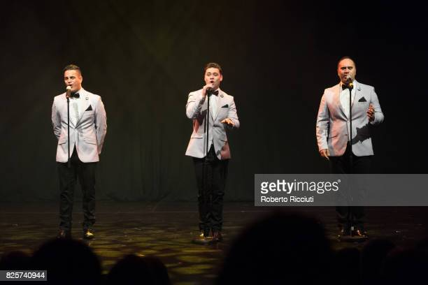 Modern Maori Quartet perform on stage 'That's Us' during Assembly Gala Launch for Edinburgh Festival Fringe at Assembly Hall on August 2 2017 in...