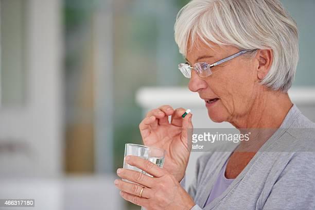 Modernen Medizin für senior Bedürfnisse