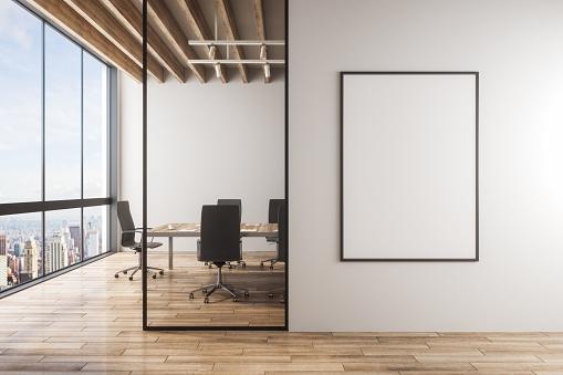 Modern meeting room interior 1138912328