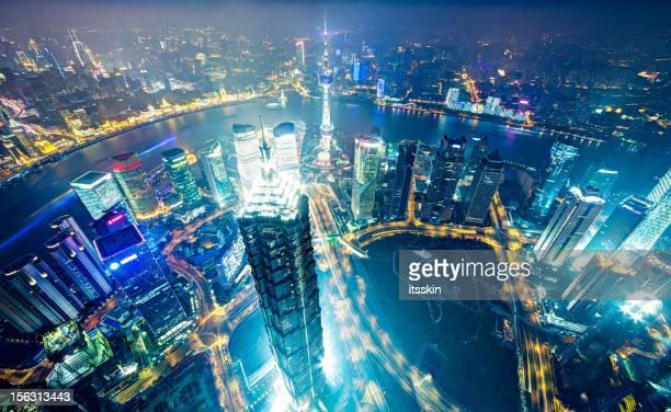 Moderne megapolis-Shanghai