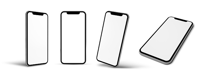 modern mobile isolated 1061217632