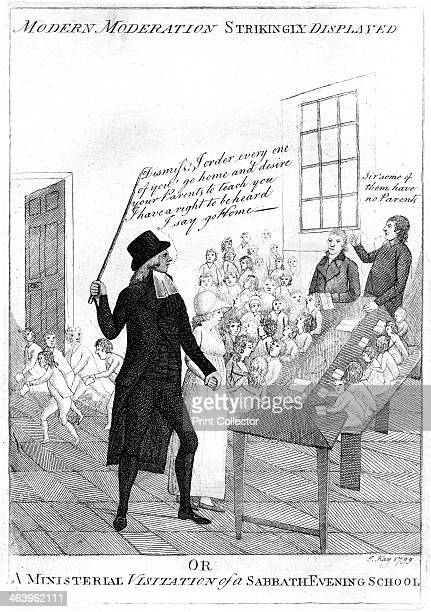 'Modern moderation strikingly displayed' 1799 Modern moderation strikingly displayed or a ministerial visitation of a sabbath evening school