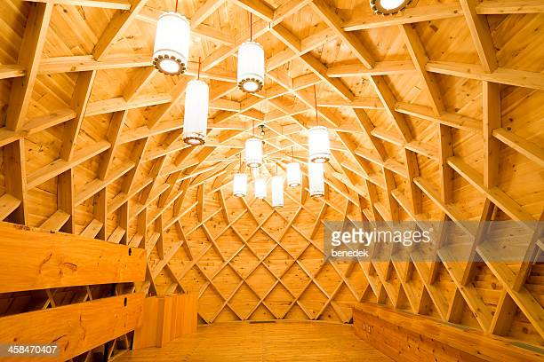 modern, native longhouse, toronto - longhouse stock photos and pictures