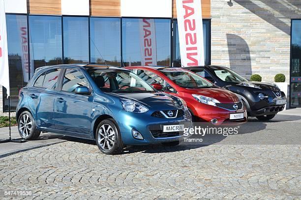 Modern Nissan vehicles