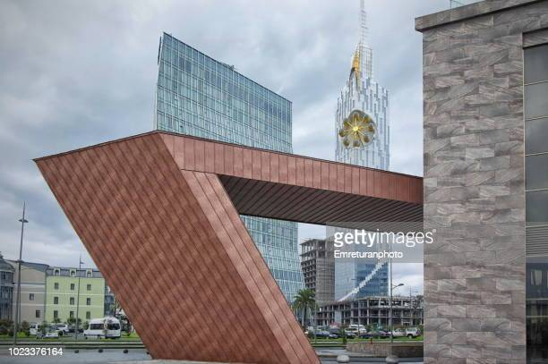 modern office and residential buildings in batumi. - emreturanphoto stock pictures, royalty-free photos & images