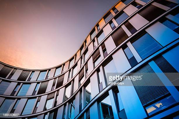 modern office architecture - architecture stock pictures, royalty-free photos & images