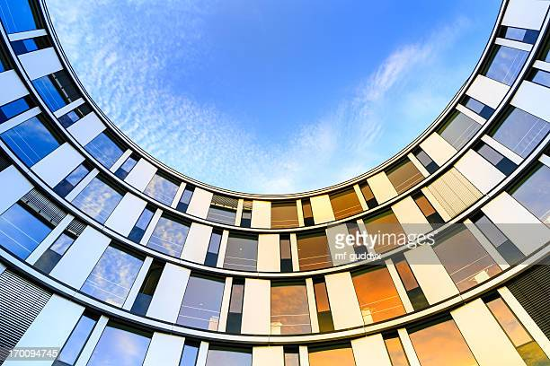 modern office architecture - hamburg germany stock pictures, royalty-free photos & images