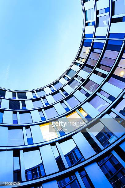 modern office architecture - building exterior stock photos and pictures