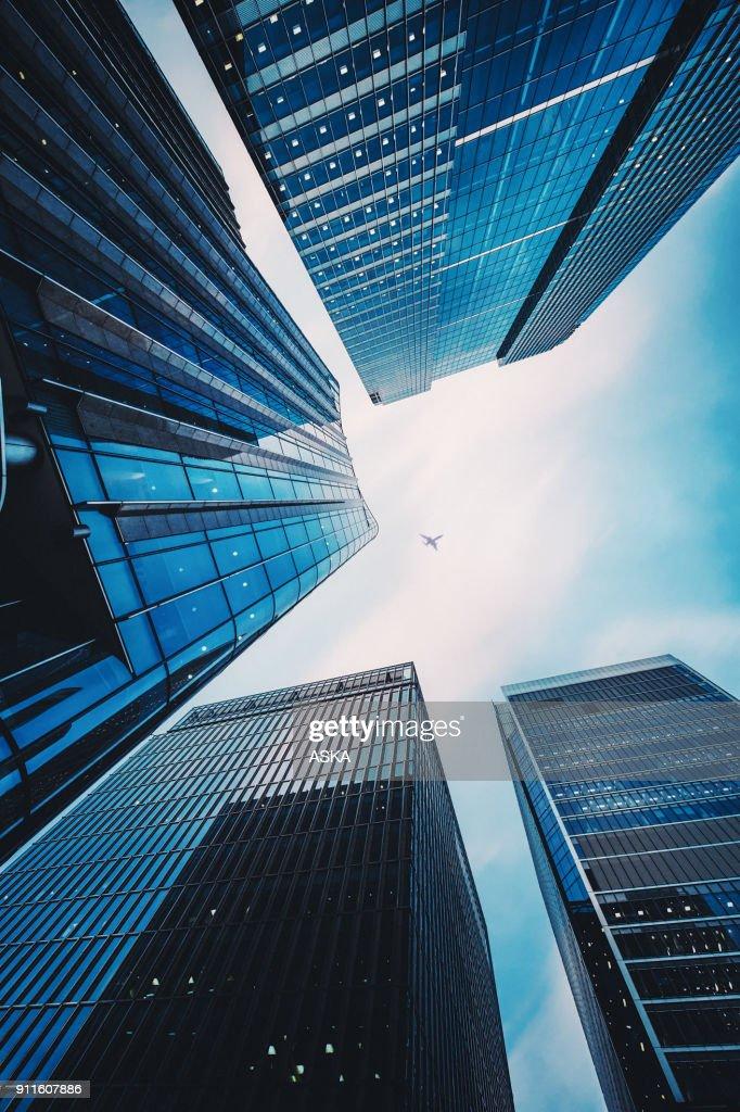 Moderne Office-architectuur : Stockfoto
