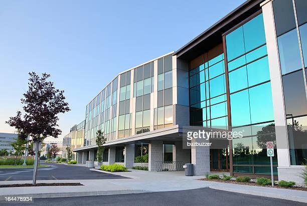 Modern Office Building Exterior