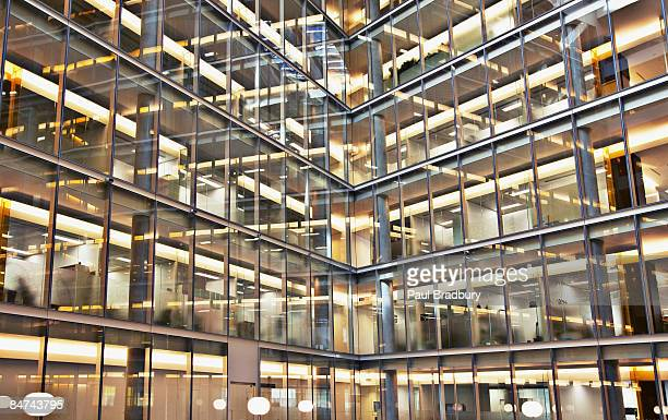 modern office building exterior - london architecture stock pictures, royalty-free photos & images