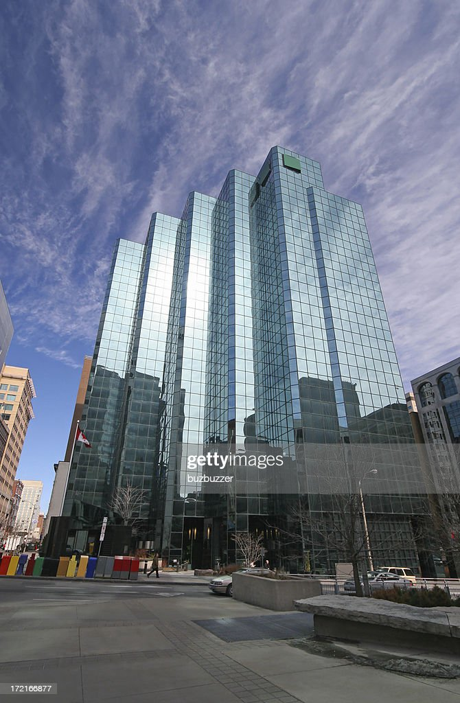 Modern Office Building in downtown Ottawa : Stock Photo