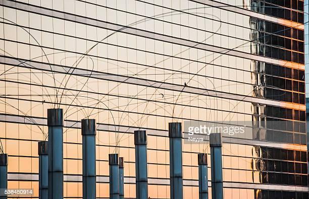 Modern Office Building in La Defense, Paris