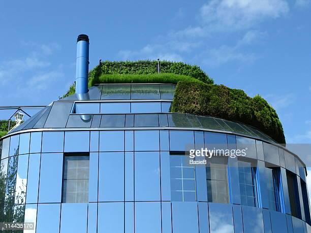 Modern office building in Switzerland