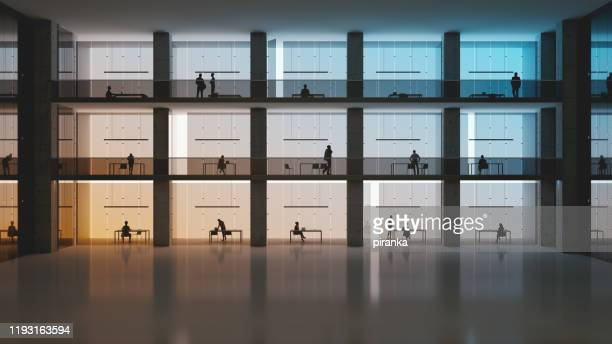 modern office building - building story stock pictures, royalty-free photos & images