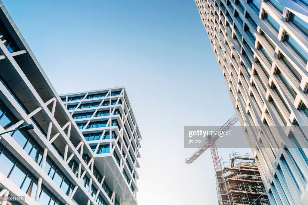 Moderne Bürogebäude in berlin : Stock-Foto
