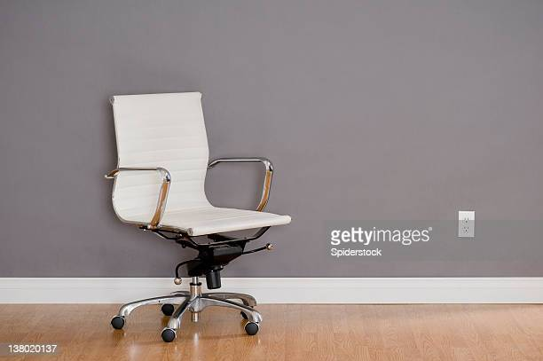 modern office chair - wainscoting stock photos and pictures