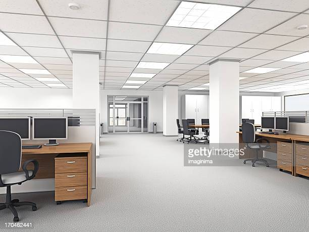 modern office interior - ceiling stock pictures, royalty-free photos & images