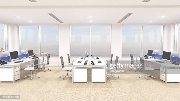 近代的なオフィスのインテリア