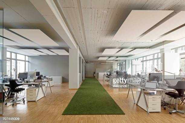 modern office interior - open plan stock pictures, royalty-free photos & images
