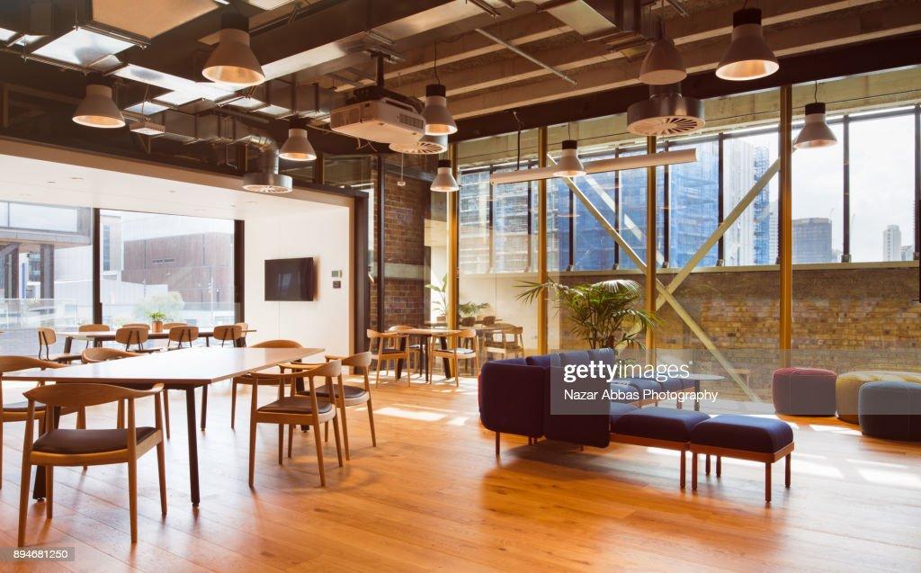 Modern Office Interior. : Stock Photo