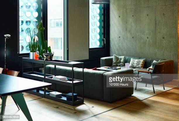 modern office interior - coworking stock photos and pictures