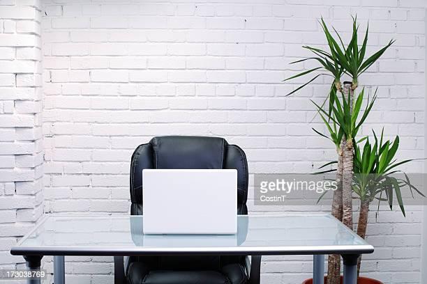 Intérieur de bureau moderne ensemble