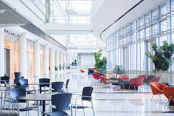 Modern office lobby, cafeteria, Waiting Area